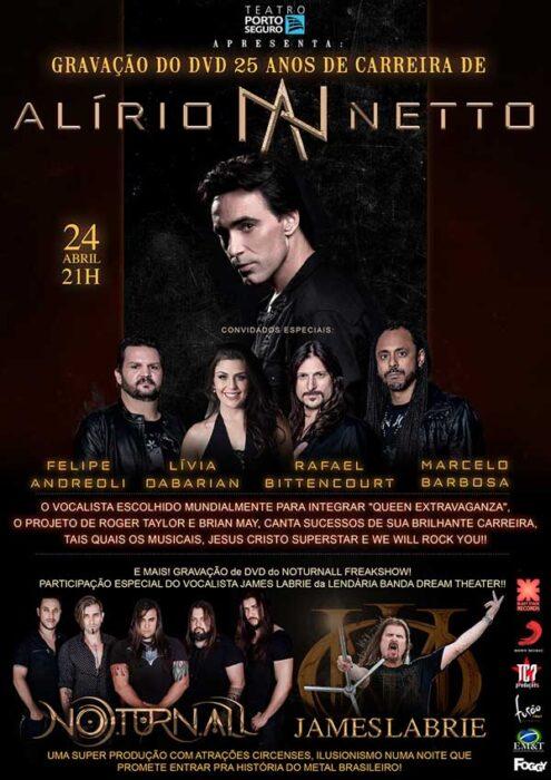 Alirio Netto Cartaz Dvd
