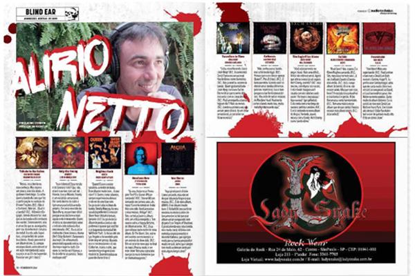 Alirio Netto Roadie Crew