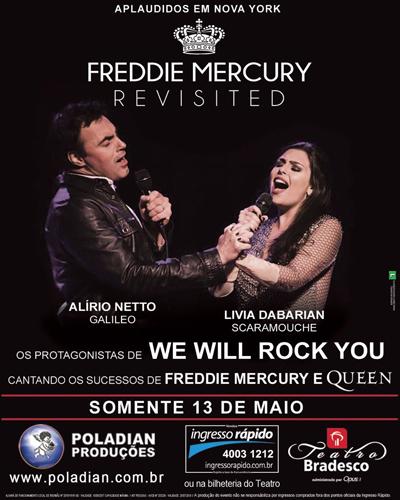 Freddie Mercury Revisited Cartaz